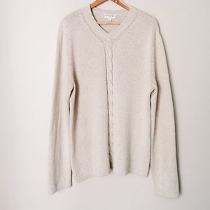 Banana Republic Sweaters - 100% Cotton Oversized Sweater Oat